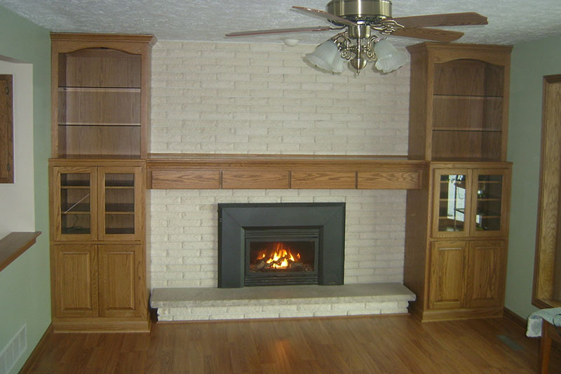 Fireplace Mantels And Trim Services Designs Custom Kitchens Built In Cabinets For Homes Offices Countertops Bathroom Remodels